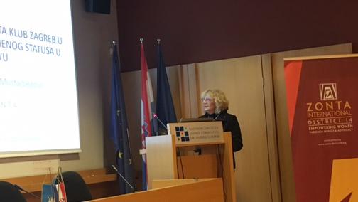 prof. dr. sc. Jadranka Mustajbegović predsjednica ZC Zagreb 2016/2018